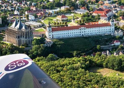 Největší letecké snímkování pro propagaci Česka