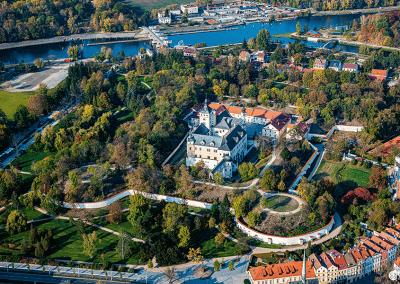Zámek Pardubice - ukázka z knihy Pardubicko z nebe