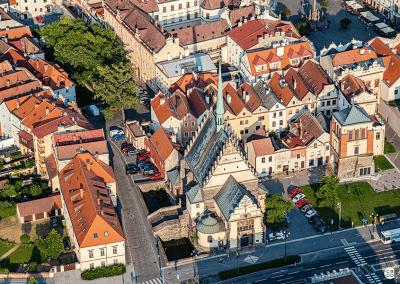 Pardubice - ukázka z knihy Pardubicko z nebe
