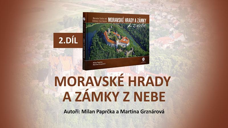 Audiokniha Moravské hrady a zámky z nebe - 2.díl