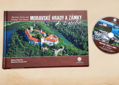 Audiokniha Moravské hrady a zámky z nebe