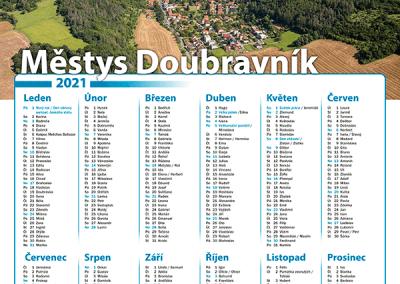 Kalendář Městys Doubravník