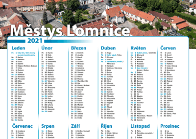 Kalendář Městys Lomnice