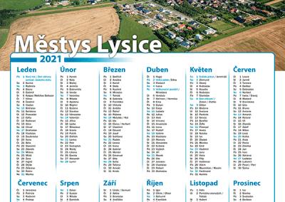 Kalendář Městys Lysice