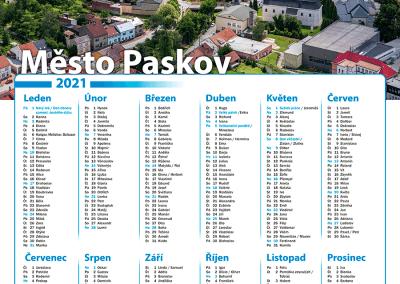 Kalendář město Paskov