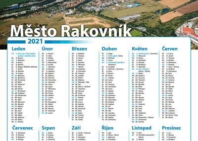 Kalendář město Rakovník