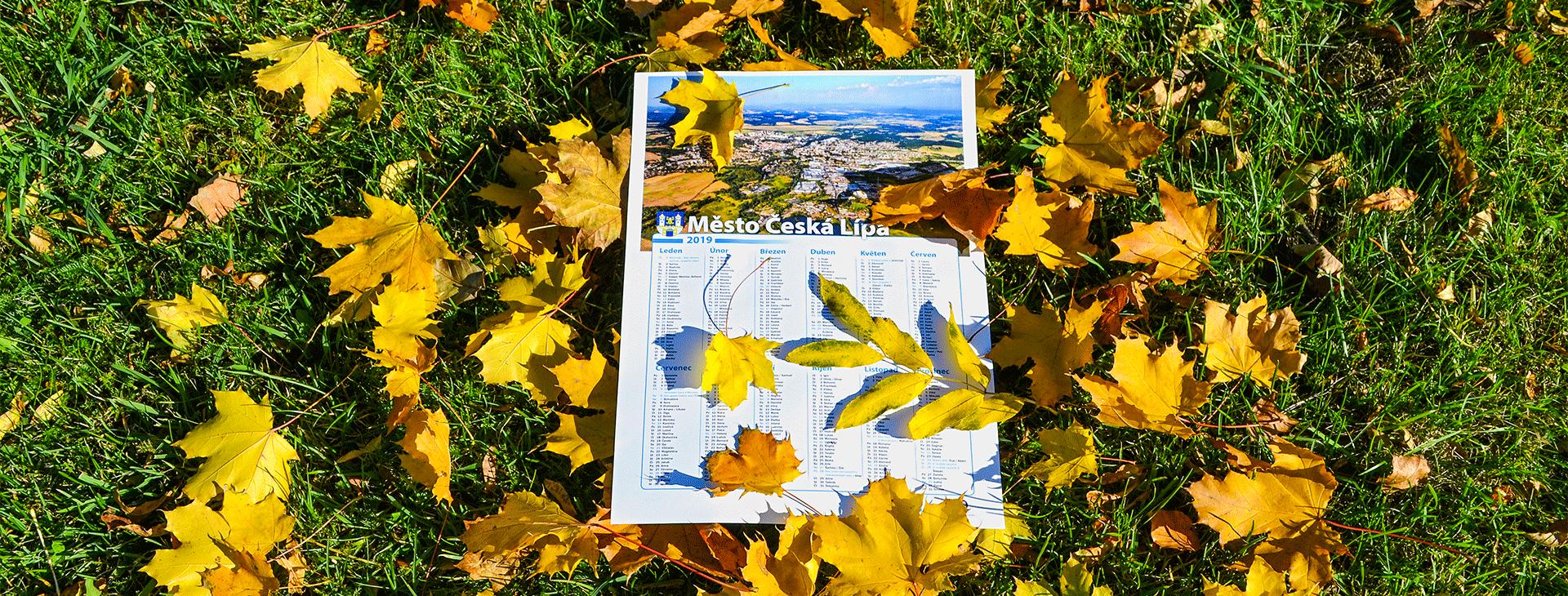 Podzimní listí, nový kalendář to jistí