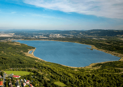 Habartov - jezero Medard