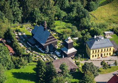 Dřevěný kostel v Liberku