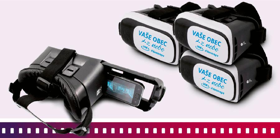 360° videomapa - VR brýle