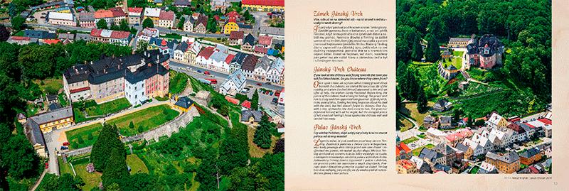 Ukázka z knihy Slezské hrady a zámky z nebe