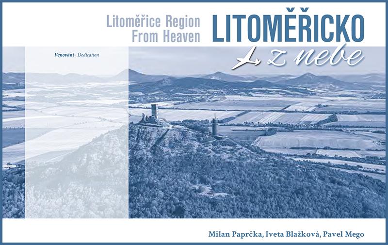 List s věnováním v knize Litoměřicko z nebe