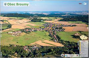 Obec Broumy